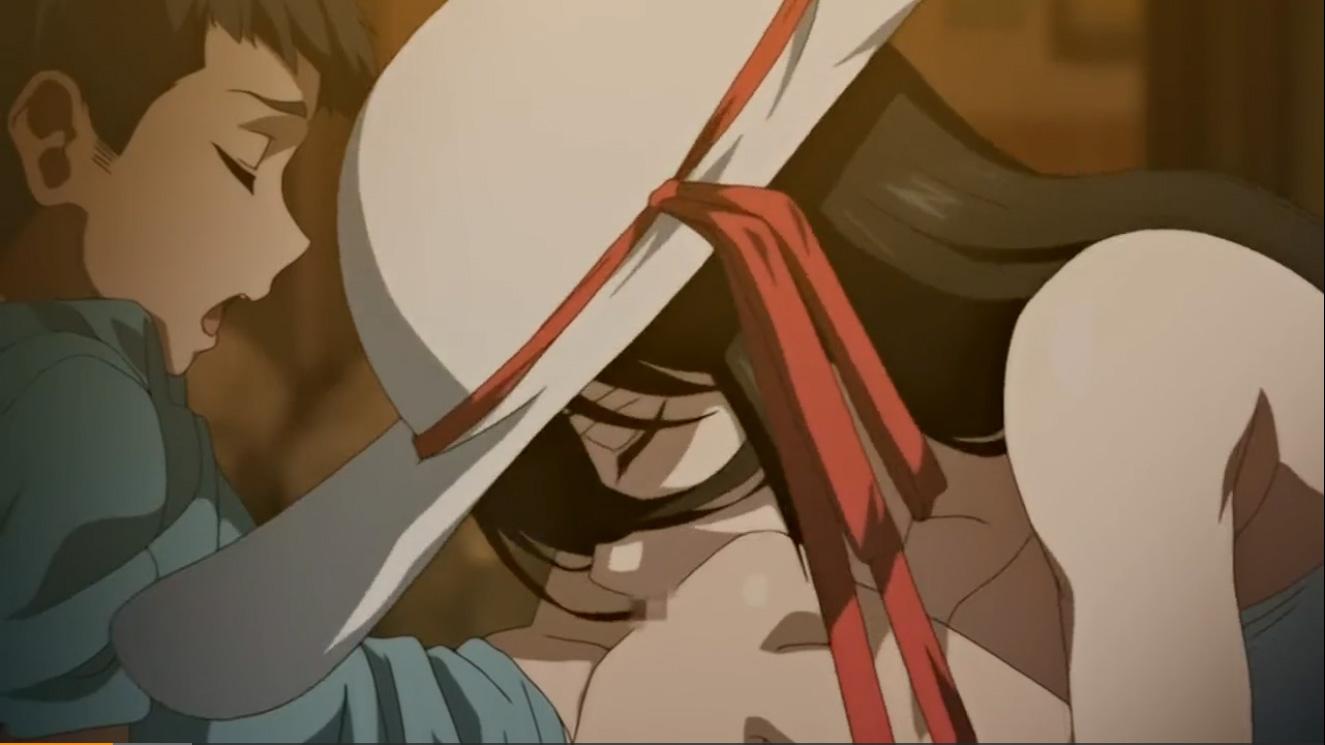【エロアニメ|ショタちんぽ狩り】約2m40cmの巨大お姉さんがショタのチンポ童貞を奪いに出没★俺の所には来なかったな…