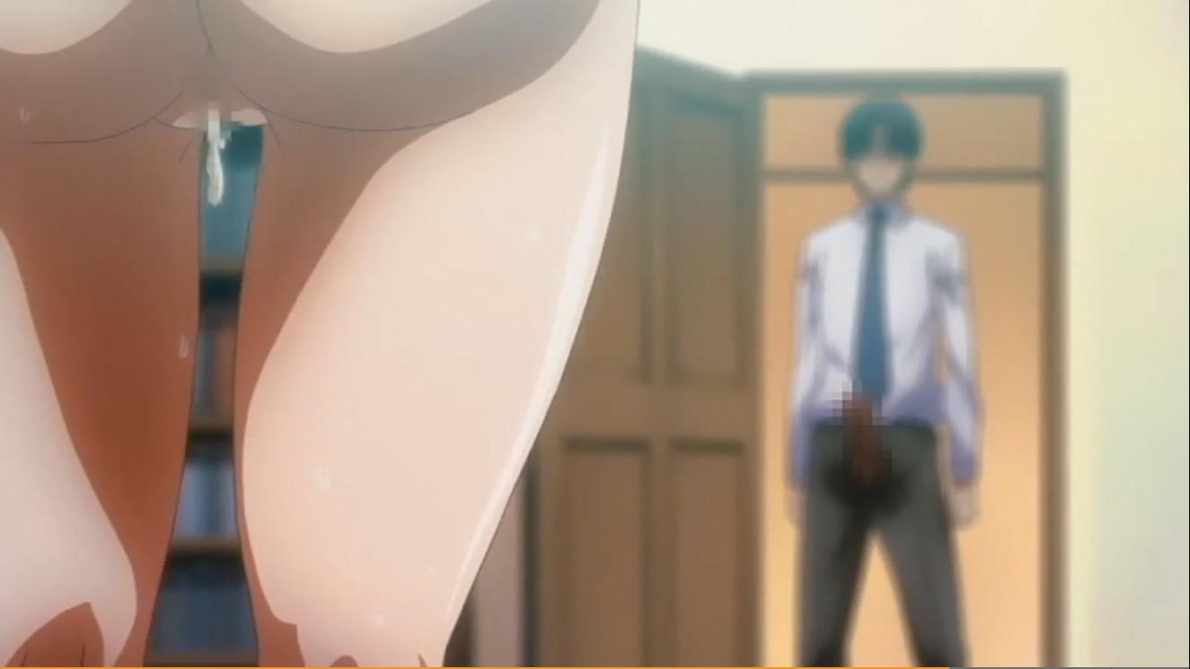【エロアニメ|SEXレス夫婦】妻を同僚に寝取らせオナニーに耽る夫w歪んだ性癖を克服し繋がるダメ夫チンポと淫乱妻マンコ